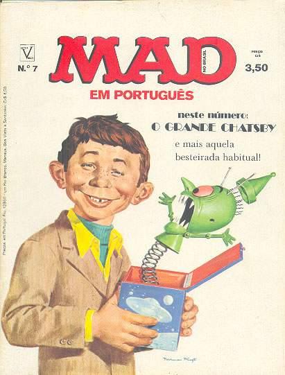 MAD Magazine #7 • Brasil • 1st Edition - Veechi