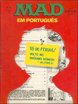 MAD Magazine #8 • Brasil • 1st Edition - Veechi