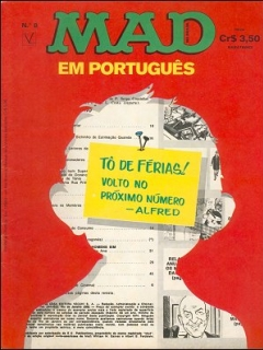 Go to MAD Magazine #8 • Brasil • 1st Edition - Veechi