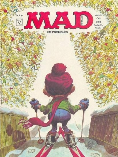 Go to MAD Magazine #9 • Brasil • 1st Edition - Veechi