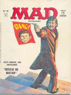 MAD Magazine #10 • Brasil • 1st Edition - Veechi
