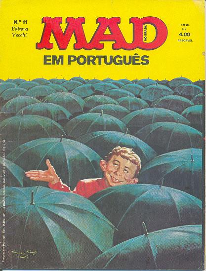 MAD Magazine #11 • Brasil • 1st Edition - Veechi