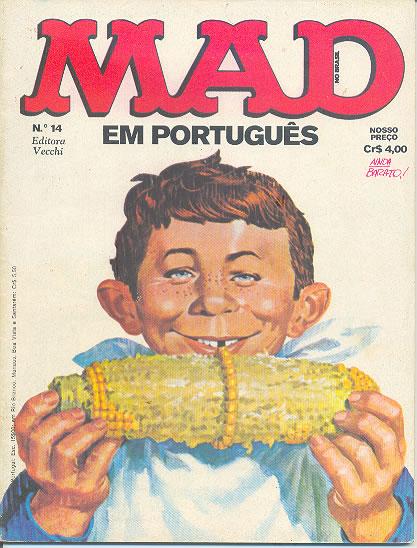 MAD Magazine #14 • Brasil • 1st Edition - Veechi