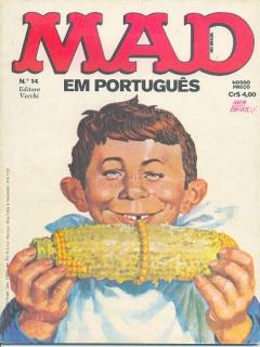 Go to MAD Magazine #14 • Brasil • 1st Edition - Veechi