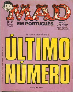 MAD Magazine #15 • Brasil • 1st Edition - Veechi