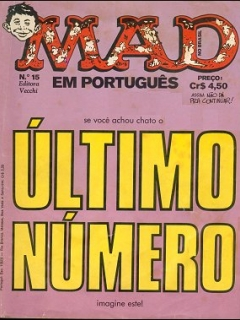 Go to MAD Magazine #15 • Brasil • 1st Edition - Veechi