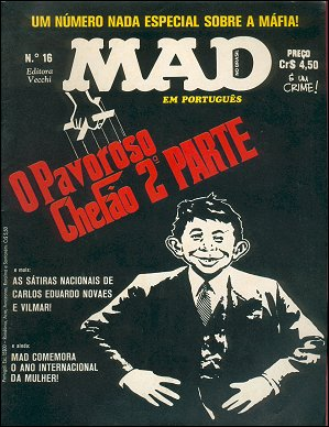 MAD Magazine #16 • Brasil • 1st Edition - Veechi