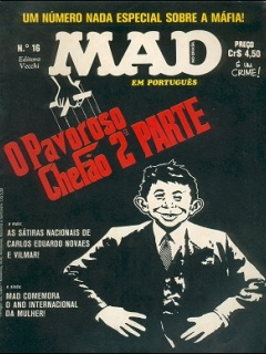 Go to MAD Magazine #16 • Brasil • 1st Edition - Veechi