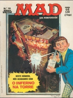 MAD Magazine #18 • Brasil • 1st Edition - Veechi