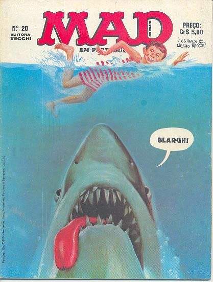 MAD Magazine #20 • Brasil • 1st Edition - Veechi