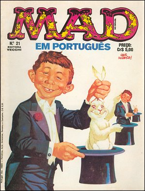 MAD Magazine #21 • Brasil • 1st Edition - Veechi