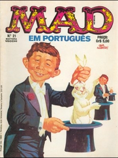 Go to MAD Magazine #21 • Brasil • 1st Edition - Veechi