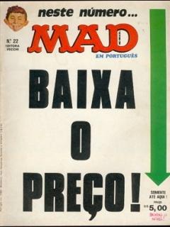 Go to MAD Magazine #22 • Brasil • 1st Edition - Veechi