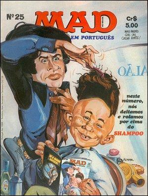 MAD Magazine #25 • Brasil • 1st Edition - Veechi