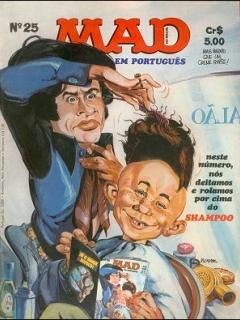 Go to MAD Magazine #25 • Brasil • 1st Edition - Veechi