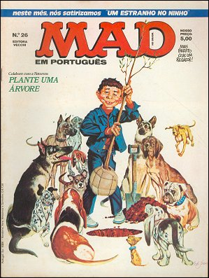 MAD Magazine #26 • Brasil • 1st Edition - Veechi