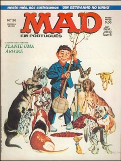 Go to MAD Magazine #26 • Brasil • 1st Edition - Veechi