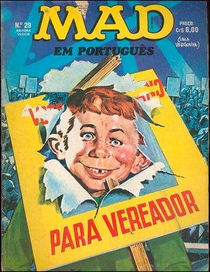 MAD Magazine #29 • Brasil • 1st Edition - Veechi