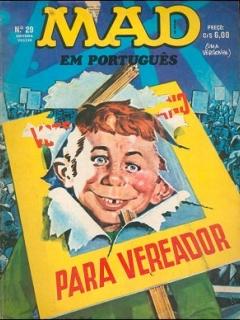 Go to MAD Magazine #29 • Brasil • 1st Edition - Veechi
