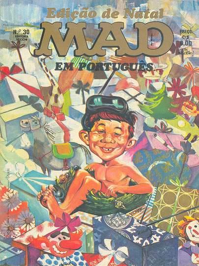 MAD Magazine #30 • Brasil • 1st Edition - Veechi