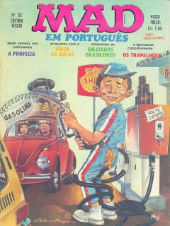 Go to MAD Magazine #33 • Brasil • 1st Edition - Veechi