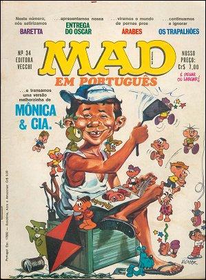 MAD Magazine #34 • Brasil • 1st Edition - Veechi