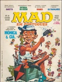 Go to MAD Magazine #34 • Brasil • 1st Edition - Veechi