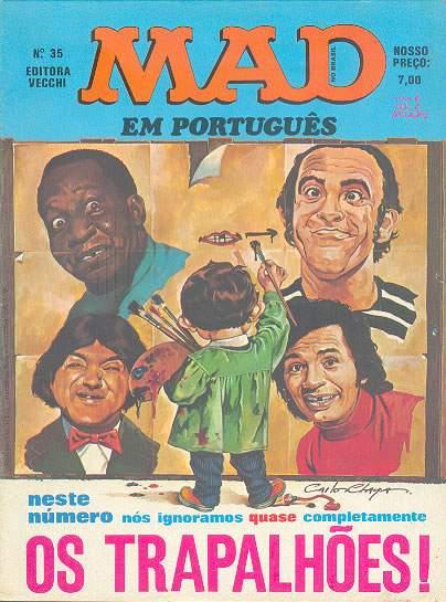 MAD Magazine #35 • Brasil • 1st Edition - Veechi