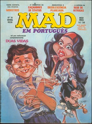 MAD Magazine #36 • Brasil • 1st Edition - Veechi