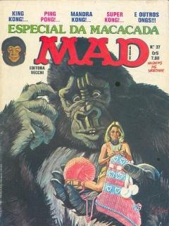 MAD Magazine #37 • Brasil • 1st Edition - Veechi