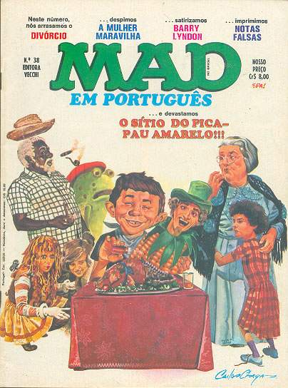 MAD Magazine #38 • Brasil • 1st Edition - Veechi