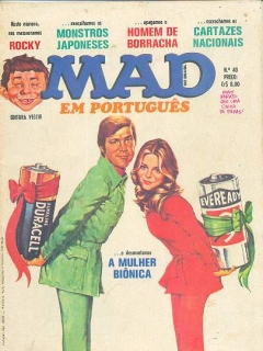 Go to MAD Magazine #40 • Brasil • 1st Edition - Veechi