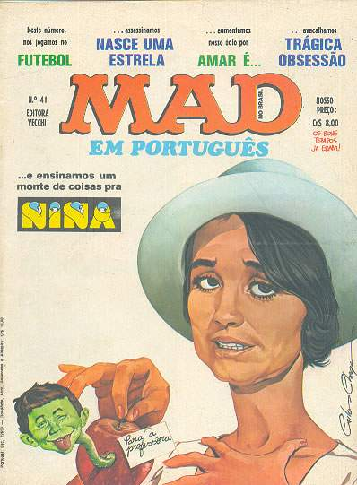 MAD Magazine #41 • Brasil • 1st Edition - Veechi