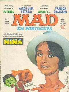Go to MAD Magazine #41 • Brasil • 1st Edition - Veechi