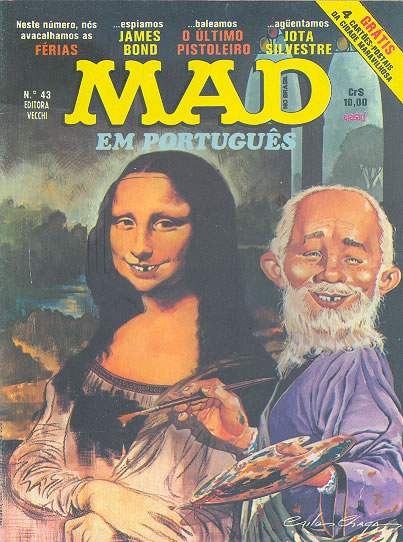 MAD Magazine #43 • Brasil • 1st Edition - Veechi