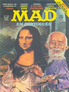 Go to MAD Magazine #43 • Brasil • 1st Edition - Veechi