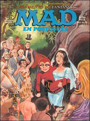 MAD Magazine #44 • Brasil • 1st Edition - Veechi