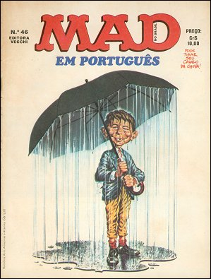 MAD Magazine #46 • Brasil • 1st Edition - Veechi