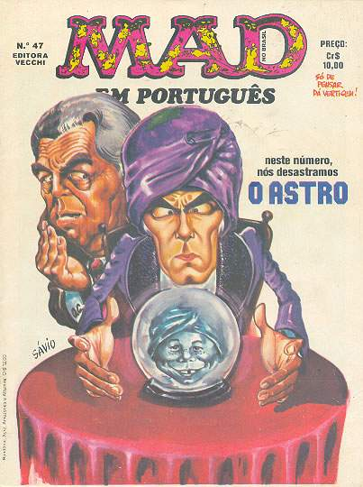 MAD Magazine #47 • Brasil • 1st Edition - Veechi