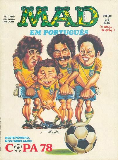 MAD Magazine #48 • Brasil • 1st Edition - Veechi