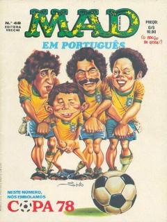 Go to MAD Magazine #48 • Brasil • 1st Edition - Veechi