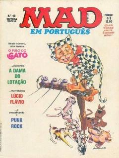 MAD Magazine #49 • Brasil • 1st Edition - Veechi