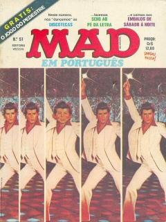 MAD Magazine #51 • Brasil • 1st Edition - Veechi