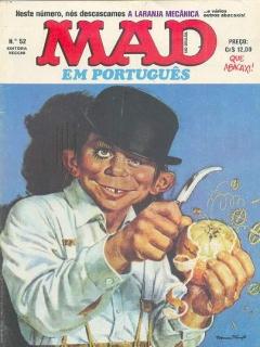 Go to MAD Magazine #52 • Brasil • 1st Edition - Veechi