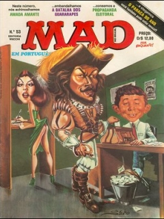 MAD Magazine #53 • Brasil • 1st Edition - Veechi