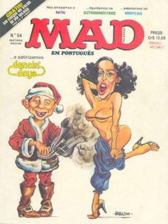 Go to MAD Magazine #54 • Brasil • 1st Edition - Veechi