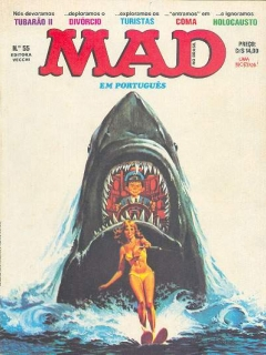 MAD Magazine #55 • Brasil • 1st Edition - Veechi