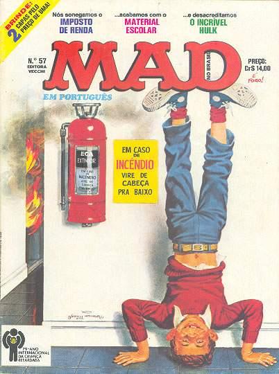 MAD Magazine #57 • Brasil • 1st Edition - Veechi