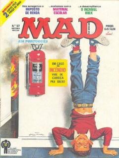 Go to MAD Magazine #57 • Brasil • 1st Edition - Veechi