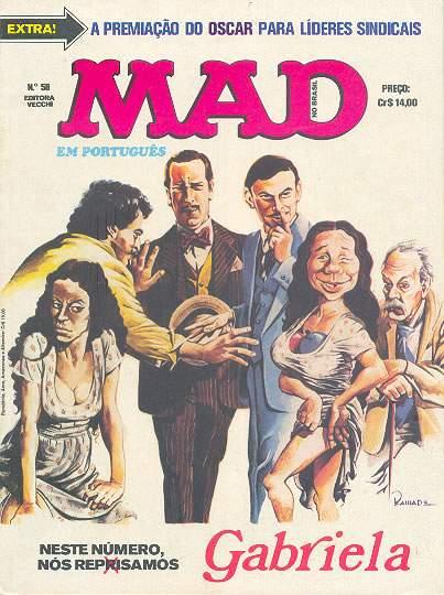 MAD Magazine #58 • Brasil • 1st Edition - Veechi